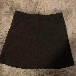 dark grey forever 21 skirt